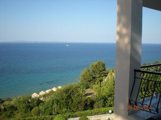 Villa Contessa: vista da giardino