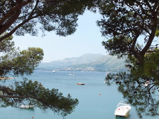 Hotel Cavtat: View from room 110