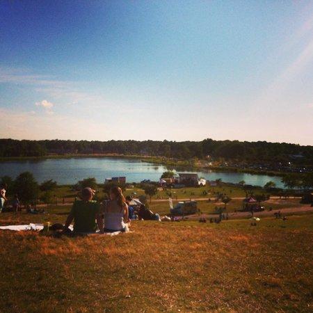 Mount Trashmore Park: The Lake