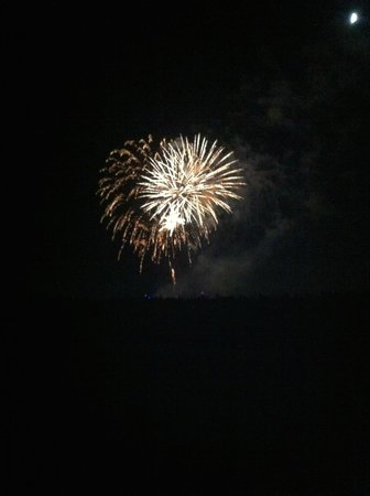 Mount Trashmore Park: Fireworks