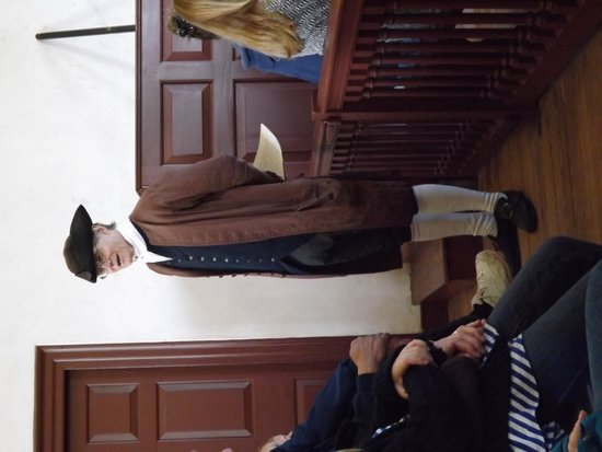 Colonial Williamsburg : Order In the Court - reinacting a real Colonial era trial.