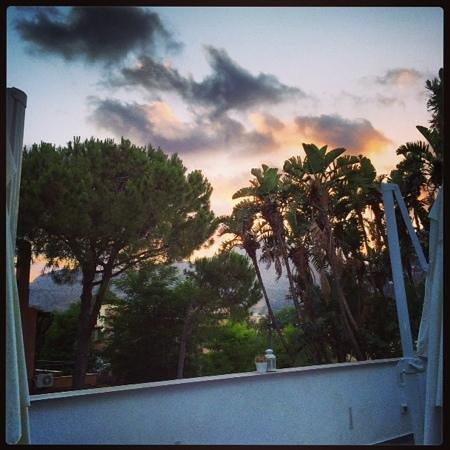 B&B Mondello Resort: vue de la terrasse PDJ