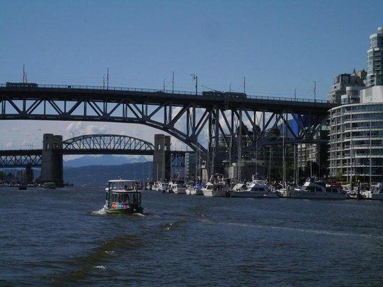 False Creek Ferries: View from False Creek Ferry