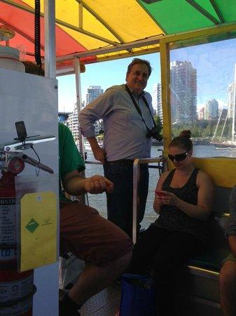 False Creek Ferries: Tourists and local residents use the False Creek Ferry