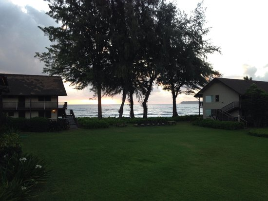 Hanalei Colony Resort: View from G3