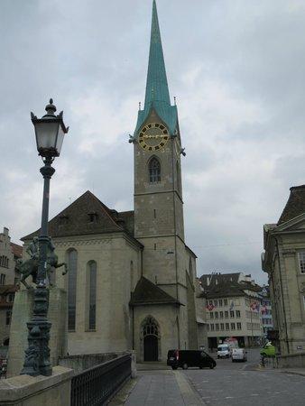 Église Fraumünster : church of fraumunster