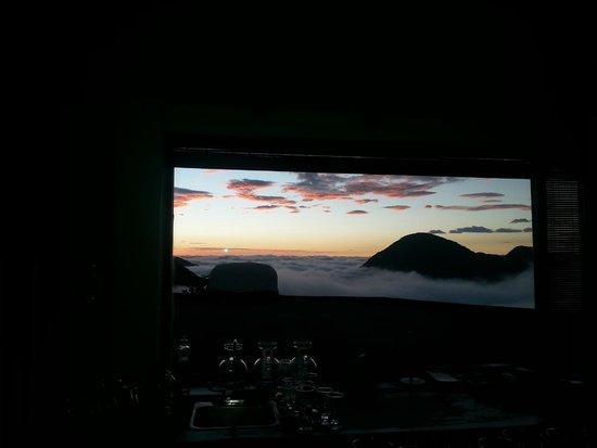 El Crater Hotel: Vista desde la recepcion