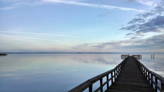 Inn At Marywood: Morning view of the St. Johns River from Marywood