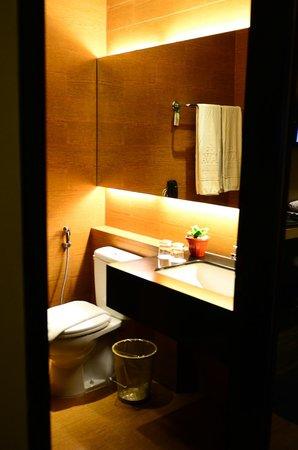de JAVA Hotel: Bathroom