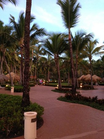 Iberostar Punta Cana: The grounds of the hotel