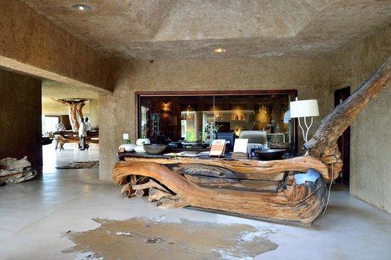 Sabi Sabi Earth Lodge: Accueil