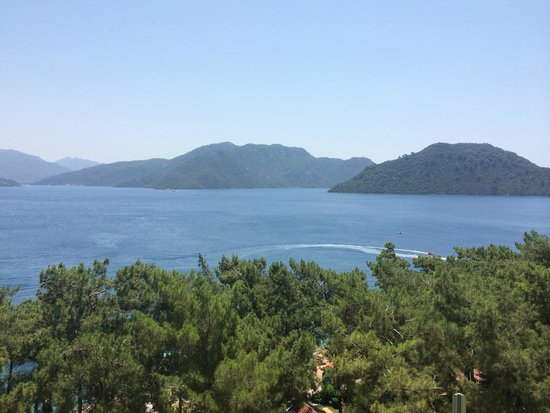Grand Yazici Club Marmaris Palace: Oda manzarası