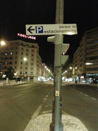 Hotel Roma : esquina del hotel