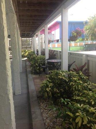 Island Time Inn: outside of room #3