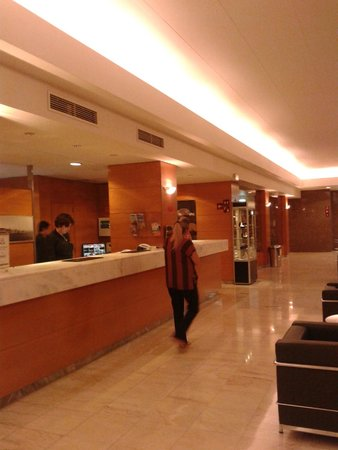 Hotel Roma: hall del hotel