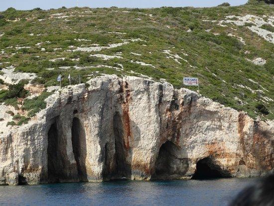 Alykes Garden Village: Kalkhöhlen