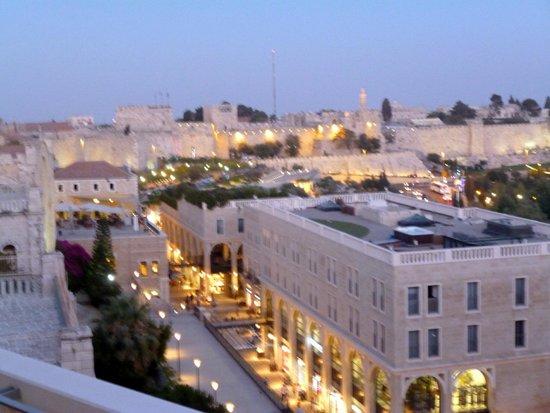 Rooftop: Mamilla View at sunset