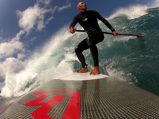 Sup Lanzarote: SUP Surfing