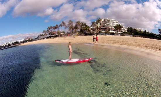 Sup Lanzarote: Kids can also play!!