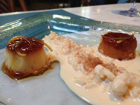 Restaurant l'Alianca d'Angles: Dessert- Small Creme Caramel