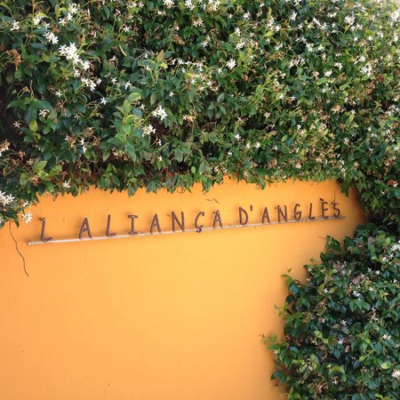 Restaurant l'Alianca d'Angles: Restaurant Carpark
