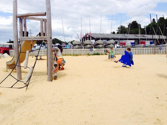 Rockley Park Holiday Park - Haven: Beach play area.