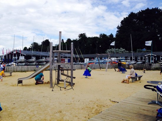 Rockley Park Holiday Park - Haven: Beach cafe play area
