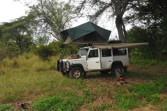 Ruaha National Park: Home for the night.