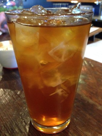 Intelligentsia Coffee : Mint infused black tea- perfectly iced and minty!