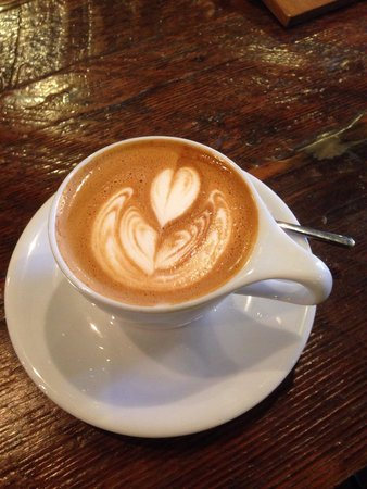 Intelligentsia Coffee : Cappuccino- some of the best coffee is brewed at Intelligentsia!