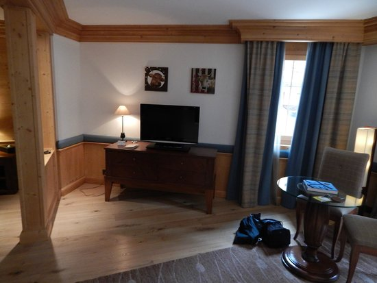 Chalet RoyAlp Hotel & Spa : Sitting room