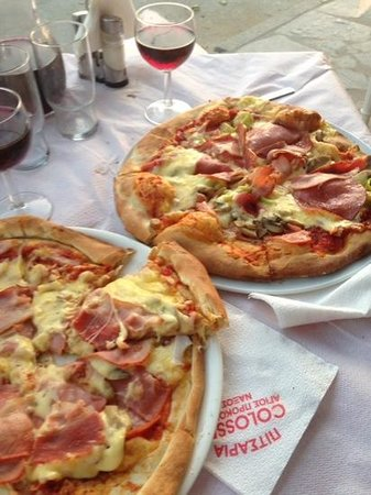Colosseo Pizza Grill: great pizza