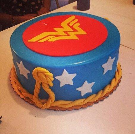 United Airlines Birthday Cake