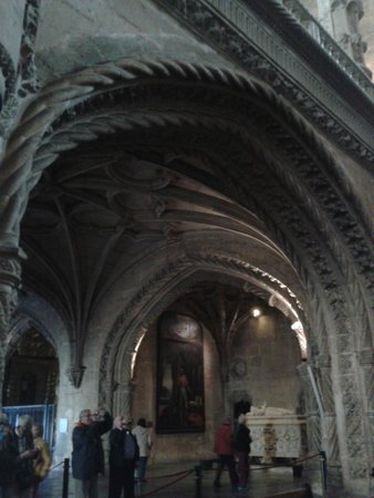 The Cloister of Jeronimos Monastery: interior