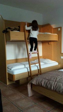 Hotel Andante : Il letto a castello