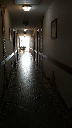 Hotel Andante : Corridoio