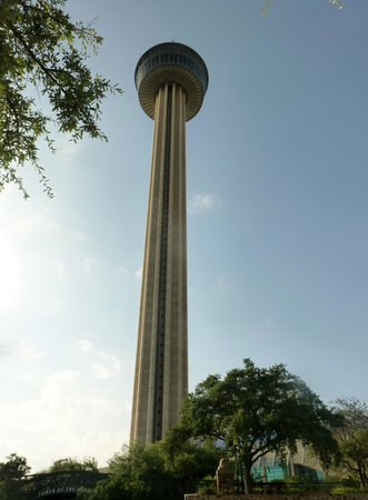 Tower of the Americas: The tower.