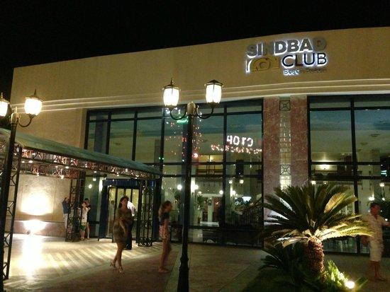 Sindbad Aqua Hotel & Spa: Вход в Синдабад Бич Резорт