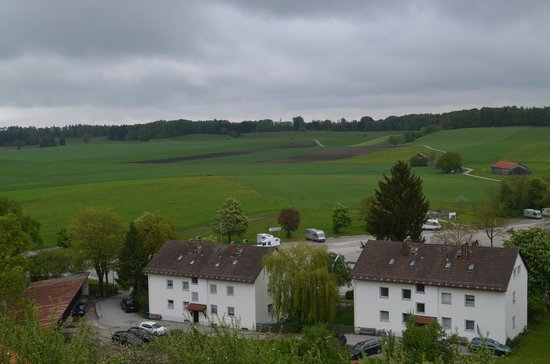 Andechs Monastery: View from the Brewery