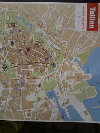 Nordic Hotel Forum: карта города