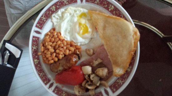 Knights Court Hotel: 'Full English breakfast'! ��