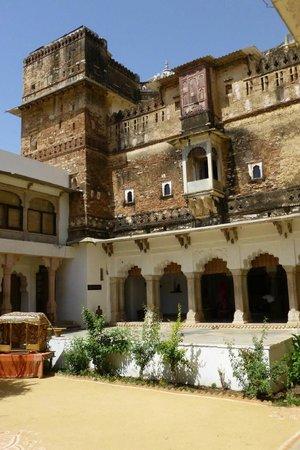 Castle Bijaipur : The terrace