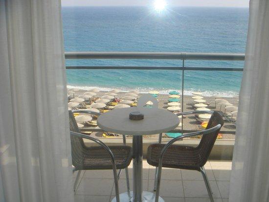 Hotel Mediterranean : балкон