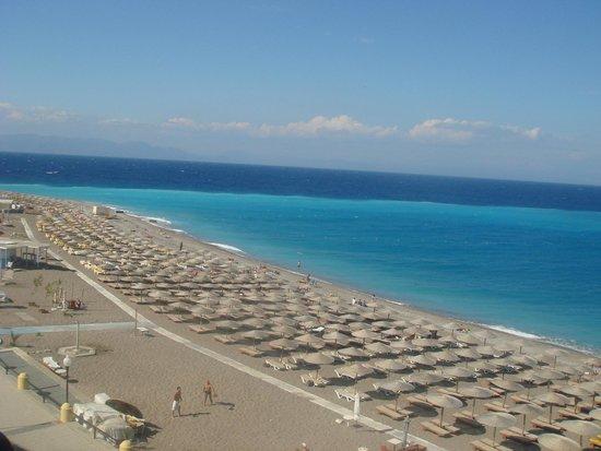 Hotel Mediterranean : вид на море