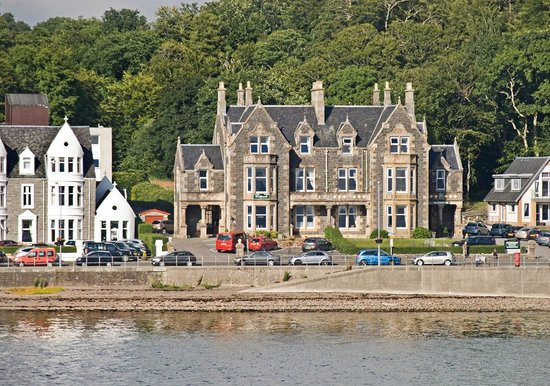 View of Wellpark House from the Oban ferry.
