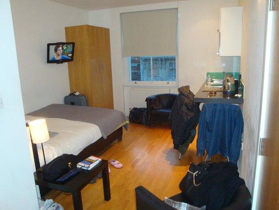 Hyde Park Executive Apartments: Το δωματιο