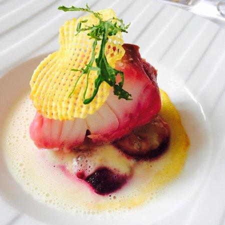 Restaurant l'Auberge : Pavé de lieu. Cuisson parfaite!