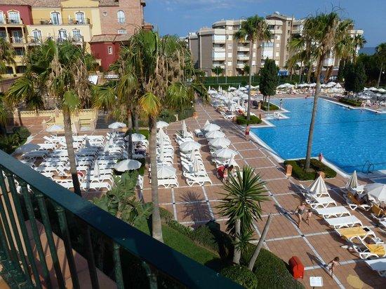 Iberostar Malaga Playa: vue terrasse chambre
