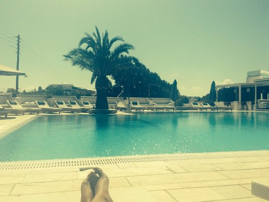 Andronikos Hotel: Pool view!