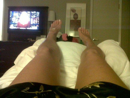 The Hotel at Times Square : almohadas y cama super confortables